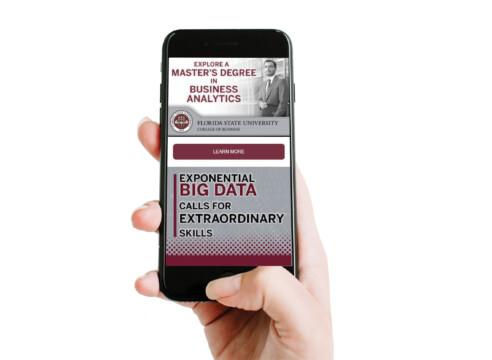 FSU College of Business Mobile Enrollment Campaign