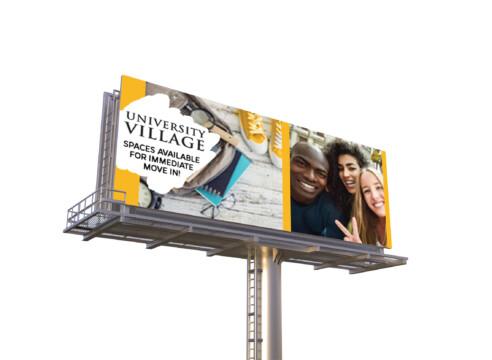 University Village Property Marketing Campaign