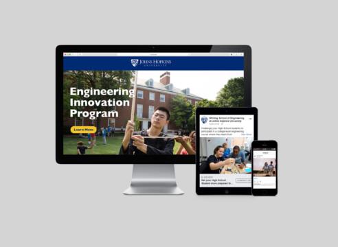 Johns Hopkins Enrollment Campaign