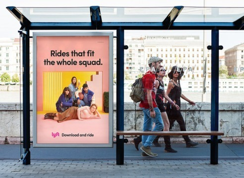 MSSmedia runs a Lyft College Campus Ad Campaign